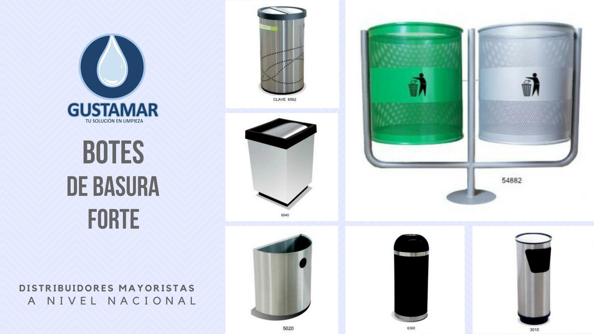 BOTES DE BASURA / BASURERO  FORTE