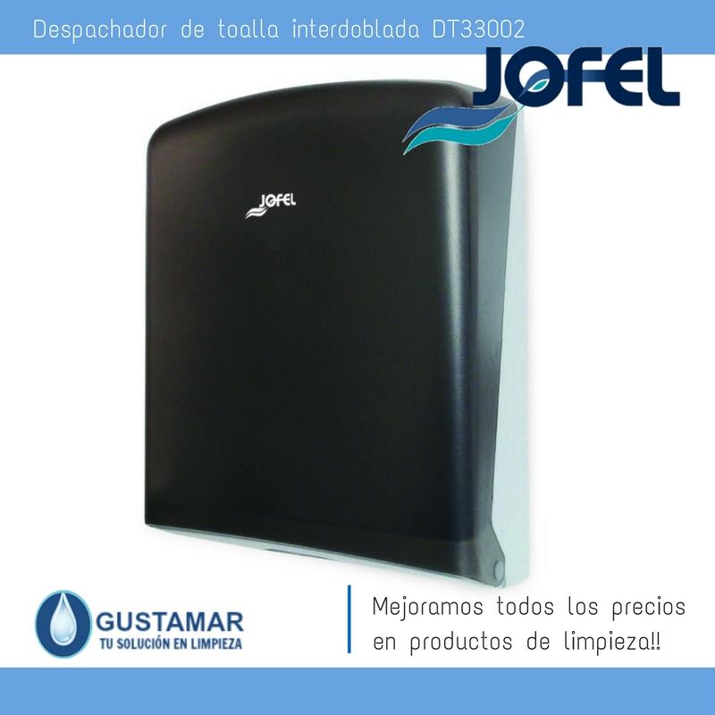 Despachador /Dispensador de Toalla Interdoblada Azur Jofel DT33002  Z-600