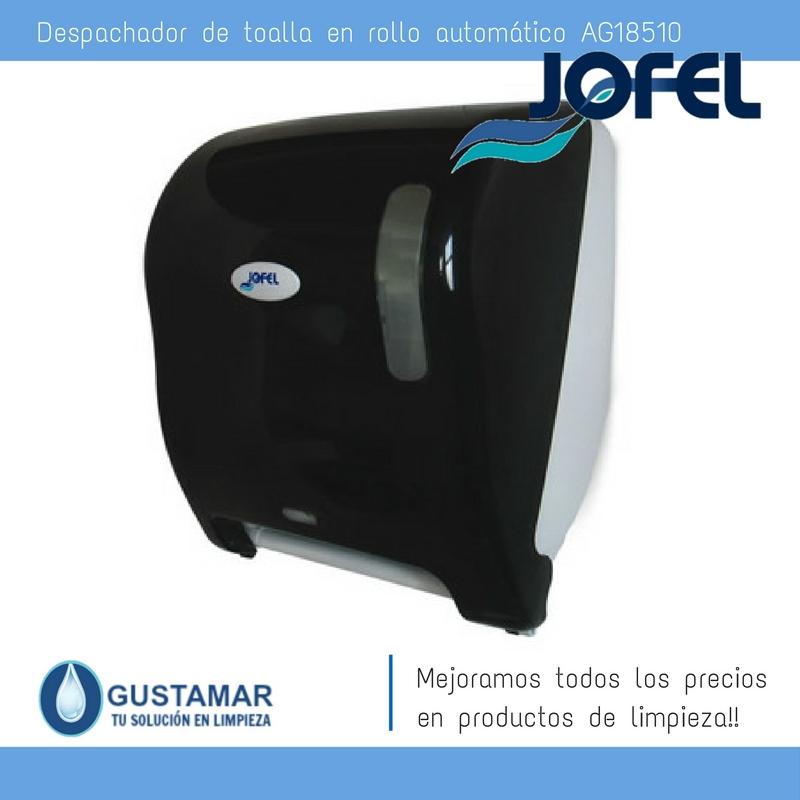 Despachadores / Dispensadores /Dosificadores / Toalla en Rollo / Toalla de papel / Papel en Rollo Azur AG18510 Automático Sensor JOFEL