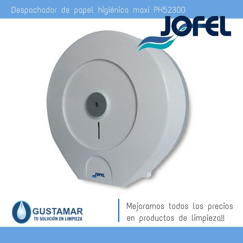 Despachador / Dispensador  de Papel Higiénico Institucional para Baño Jofel PH52300