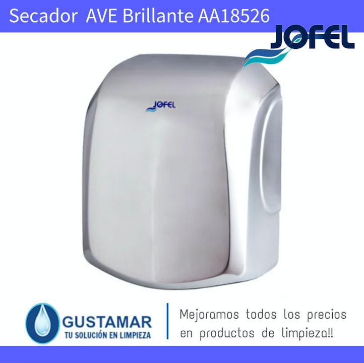 SECADORES DE MANOS JOFEL / SECAMANOS AVE INOXIDABLE BRILLANTE ÓPTICO AA18526 JOFEL