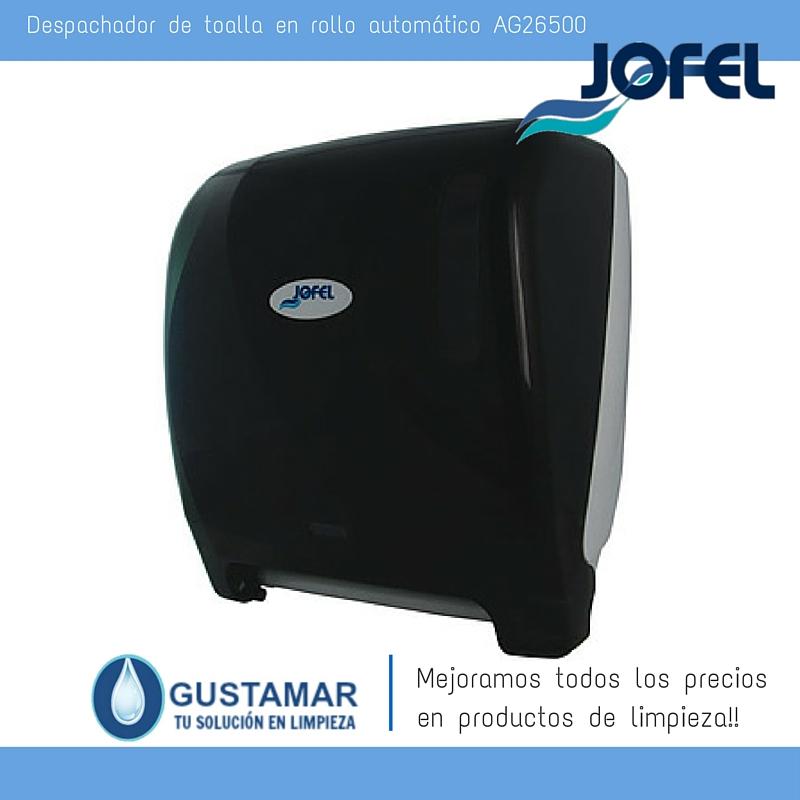 Despachadores / Dispensadores /Dosificadores / Toalla en Rollo / Toalla de papel / Papel en Rollo Futura AG26500 Automático Sensor JOFEL