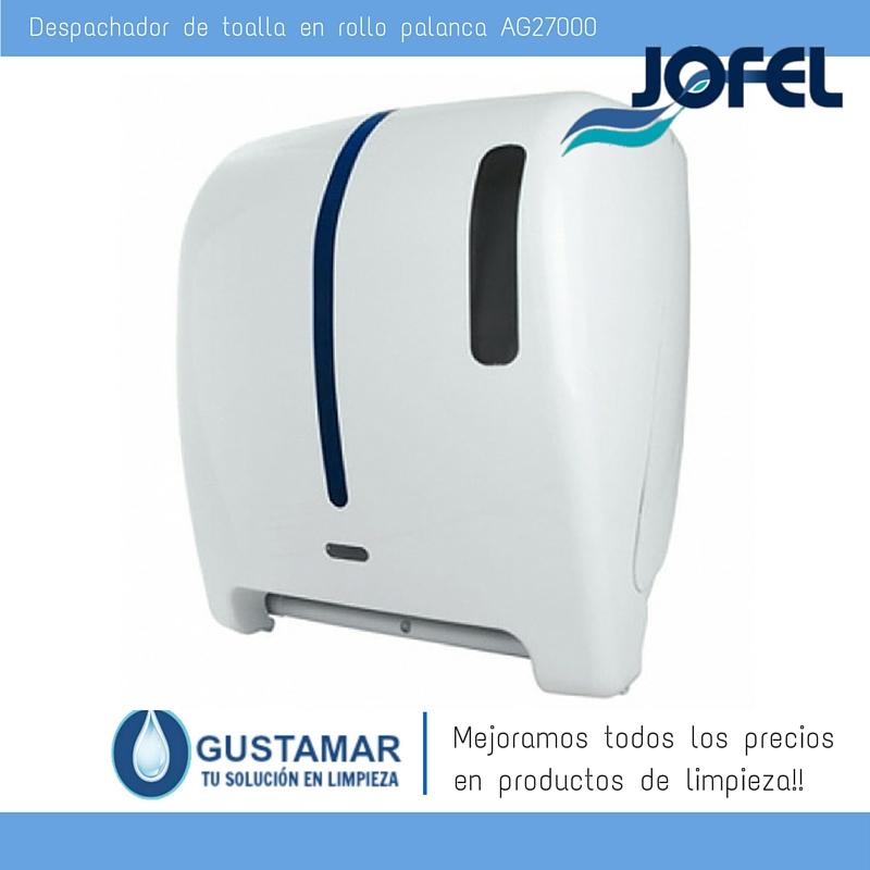 Despachadores / Dispensadores /Dosificadores / Toalla en Rollo / Toalla de papel / Papel en Rollo Atlántica AG27000 Automático Sensor JOFEL