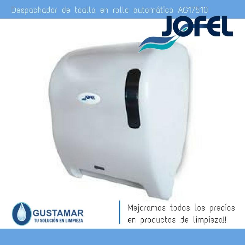 Despachadores / Dispensadores /Dosificadores / Toalla en Rollo / Toalla de papel / Papel en Rollo Azur AG17510 Automático Sensor JOFEL