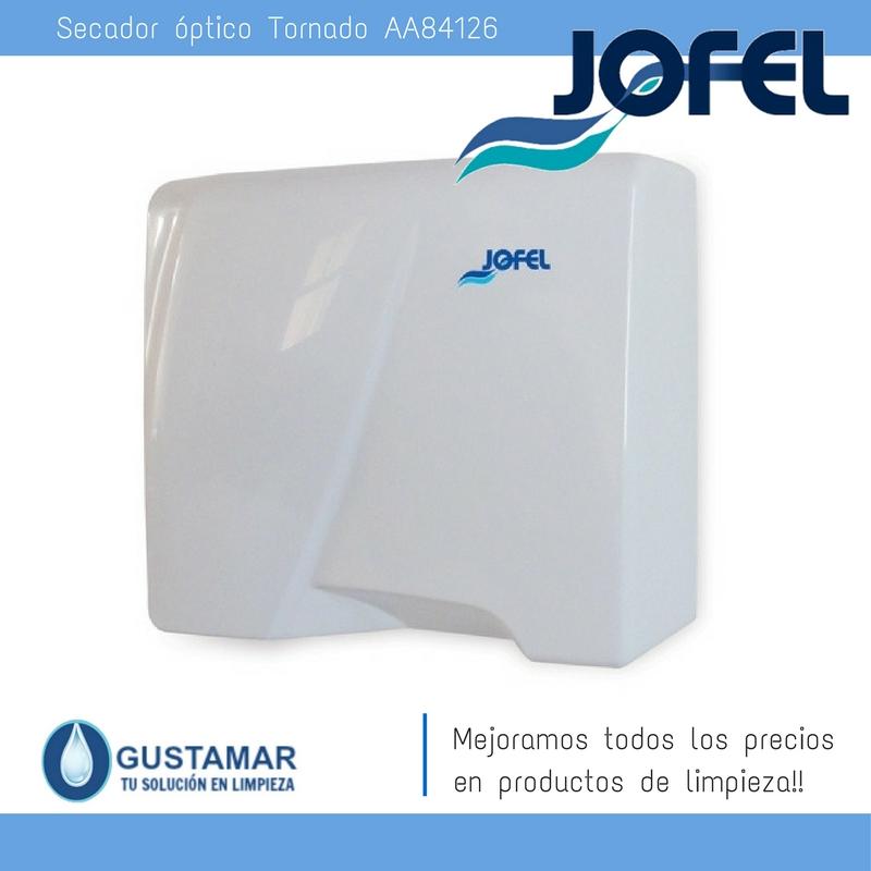 SECADORES DE MANOS JOFEL / SECAMANOS TORNADO ÓPTICO AA84126 JOFEL