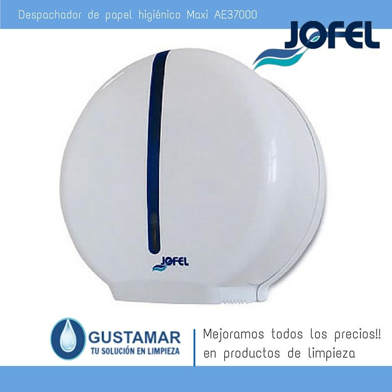 Despachador / Dispensador  de Papel Higiénico Institucional para Baño Jofel AE37000