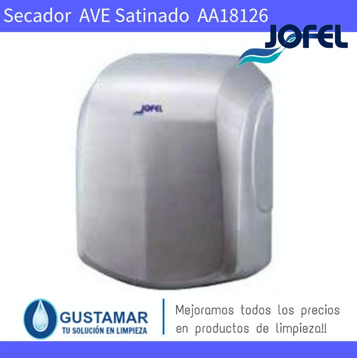 SECADORES DE MANOS JOFEL / SECAMANOS AVE INOXIDABLE SATINADO ÓPTICO AA18126 JOFEL