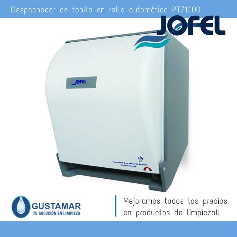Despachadores / Dispensadores /Dosificadores / Toalla en Rollo / Toalla de papel / Papel en Rollo Altera PT71000 Automático Sensor JOFEL