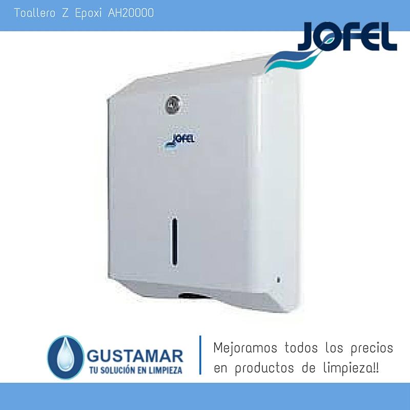 Despachador /Dispensador de Toalla Interdoblada Epoxi Jofel AH20000 Z-600