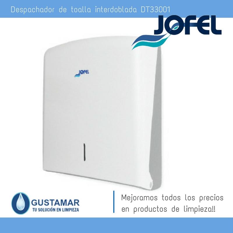 Despachador /Dispensador de Toalla Interdoblada Azur Jofel DT33001 Z-600