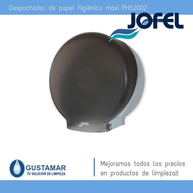 Despachador / Dispensador  de Papel Higiénico Institucional para Baño Jofel PH51002