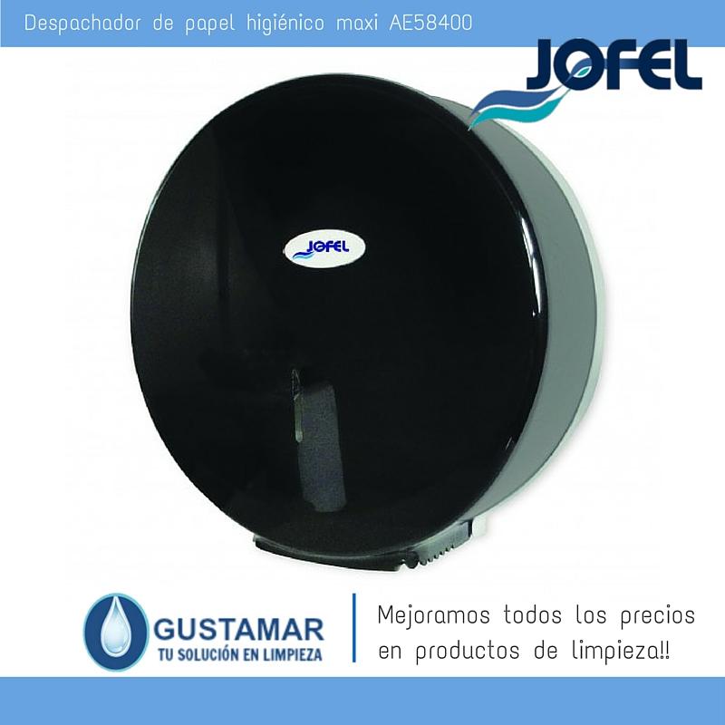Despachador / Dispensador  de Papel Higiénico Institucional para Baño Jofel AE58400