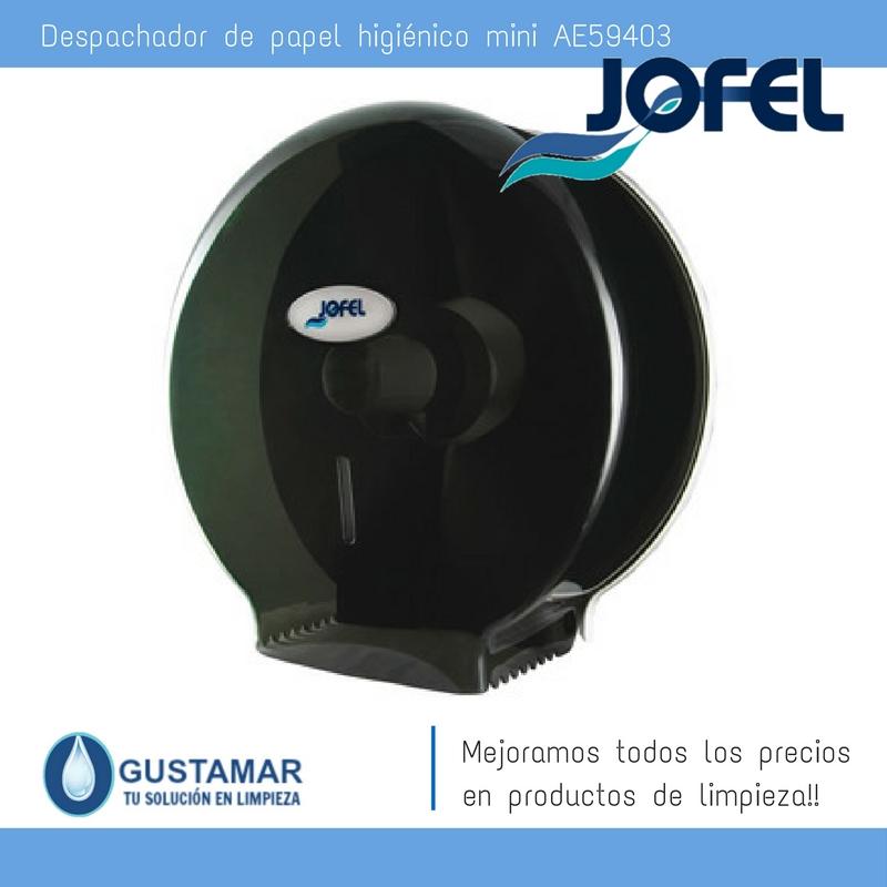 Despachador / Dispensador  de Papel Higiénico Institucional para Baño Jofel AE59403
