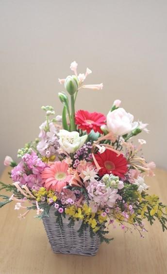 季節のお花mix