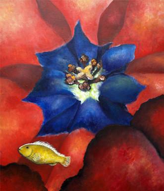 Orange anemonefish : F20 Canvas 2010