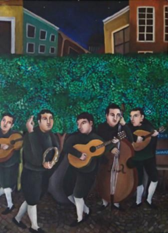 Serenade : P8 Canvas Oil 2014