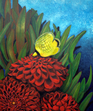 Butterflyfish : F20 Canvas 2010