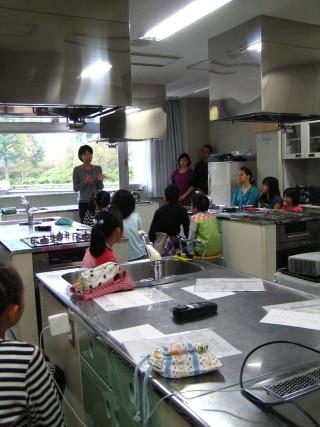 いつもの調理室が・・・