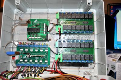 Progetti labdomotic labdomotic progetto domotica e for Centralina domotica