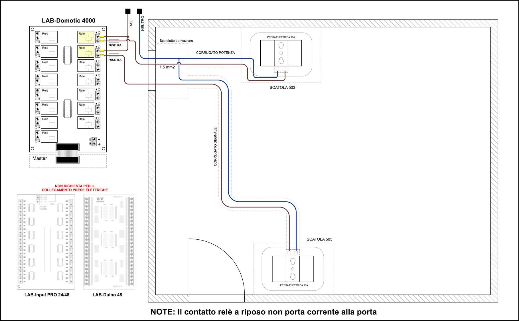 Schema Elettrico Per Collegare Un Relè : Relè per chiudere aprire un circuito consigli installazione