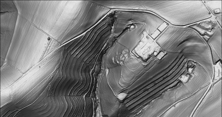 Laserscan Gebiet Hof Hauenstein