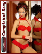 Completini sexy, set, intimo 2 pz