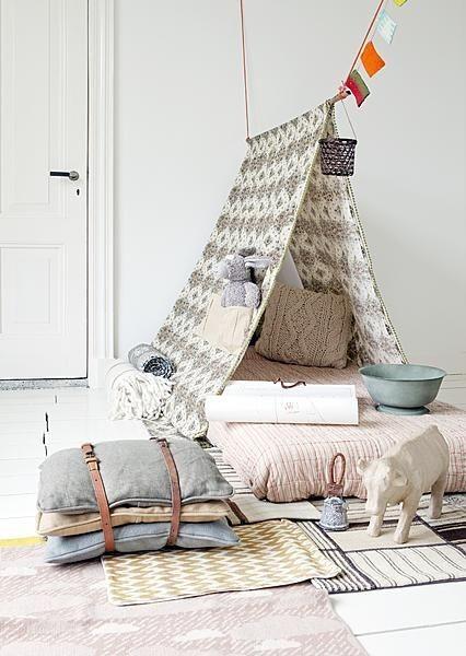 Kids inspiration une cabane dans la chambre la d co for Cabane dans la chambre