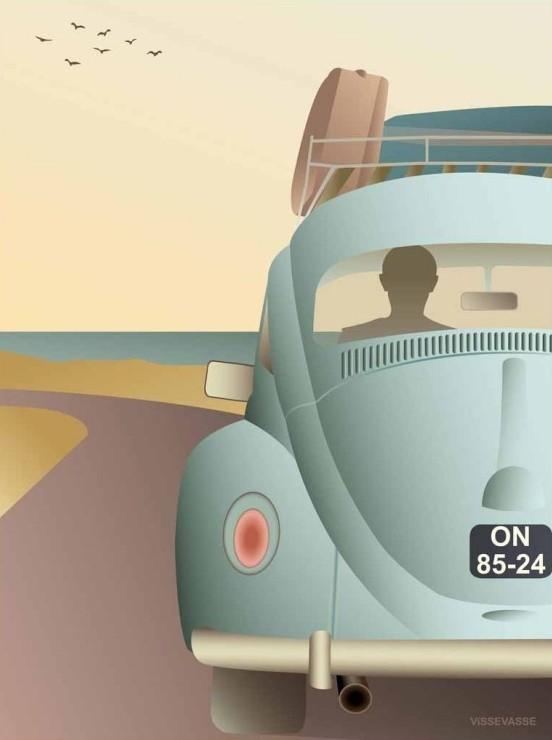 """""""VW Beetle"""" par Vissevasse - Chez Twicy Store, 26€"""
