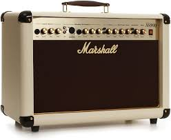 Ampli guitare acoustique Marshall AS50D blanc