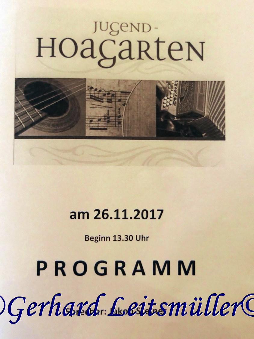 Jugend Hoagartn in Atzing