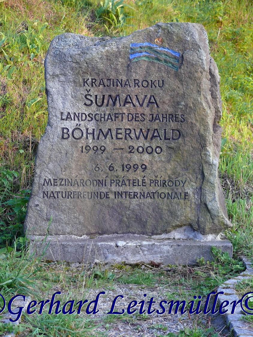 Wanderung im August 2007 zum Adalbert Stifter Denkmal