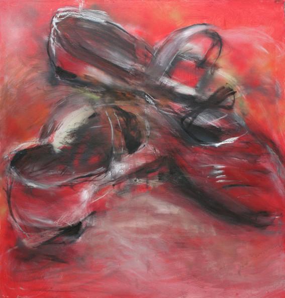 Zueinander | 160 x 150 cm | 2009