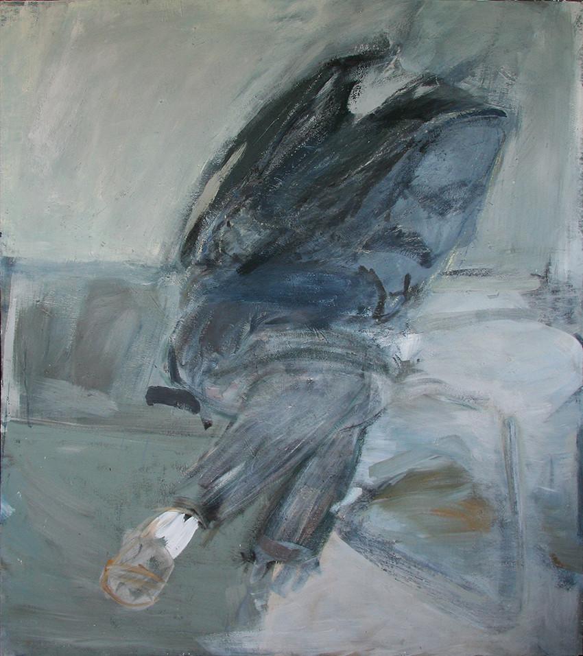 Sitzende Figur 160 x 140 cm 1984