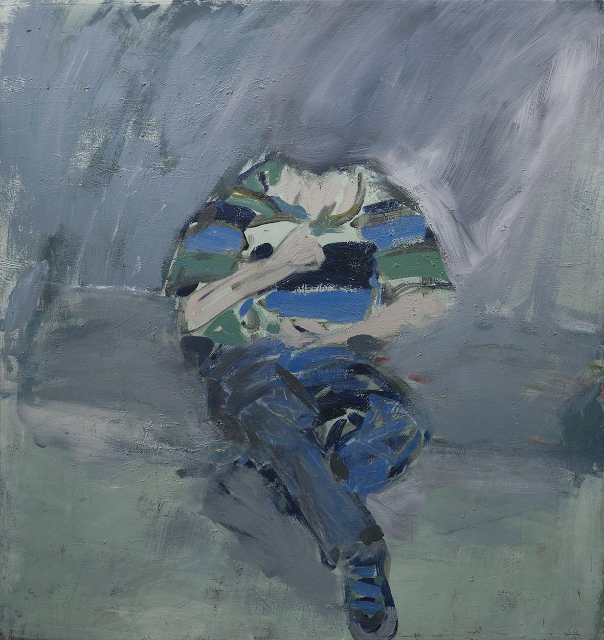 Sitzende Figur 160 x 150 cm 1991