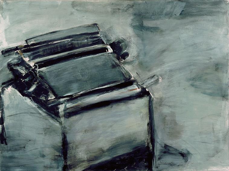 Schreibmaschine | 120 x 150 cm | 2002