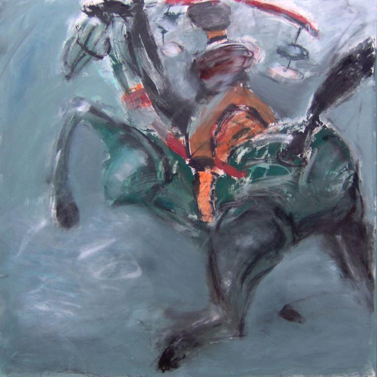 Chinesischer Reiter | 160 x 120 cm | 2005