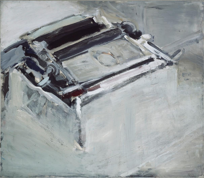 Schreibmaschine 120 x 150 cm 2002