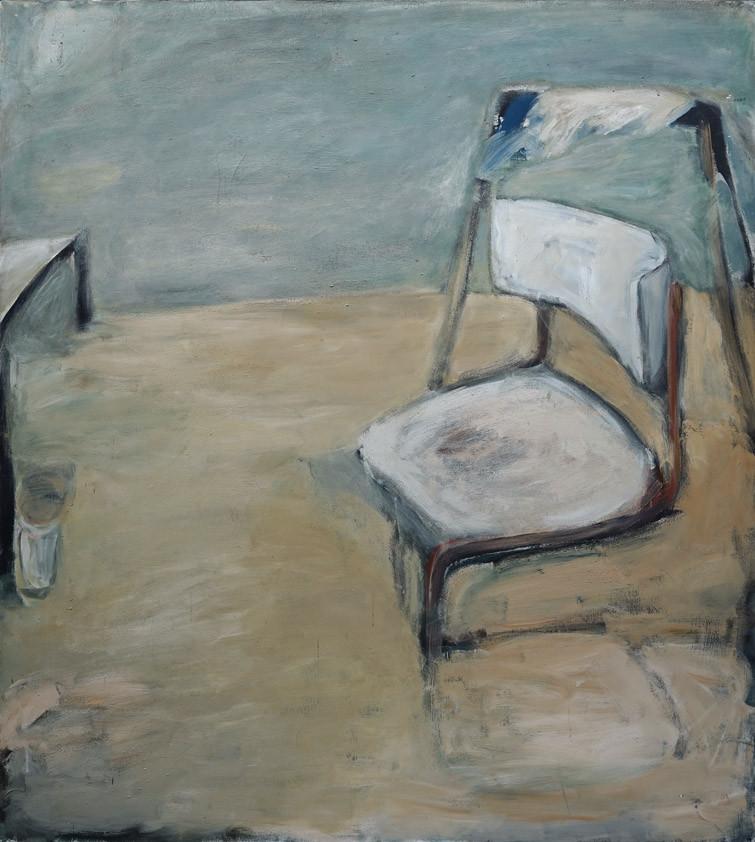 Atelierbild (Stuhl) 180 x 160 cm 1984