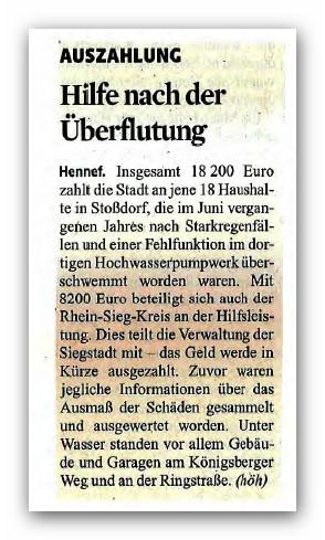 Rhein-Sieg Anzeiger, 6.2.14