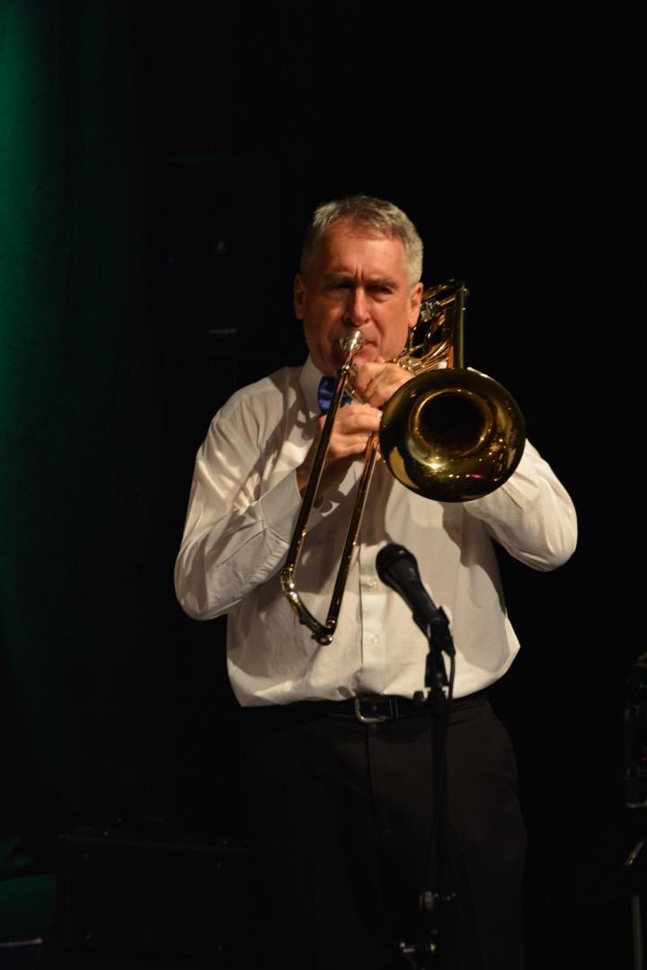 Miro Steiner, trombone/vocal