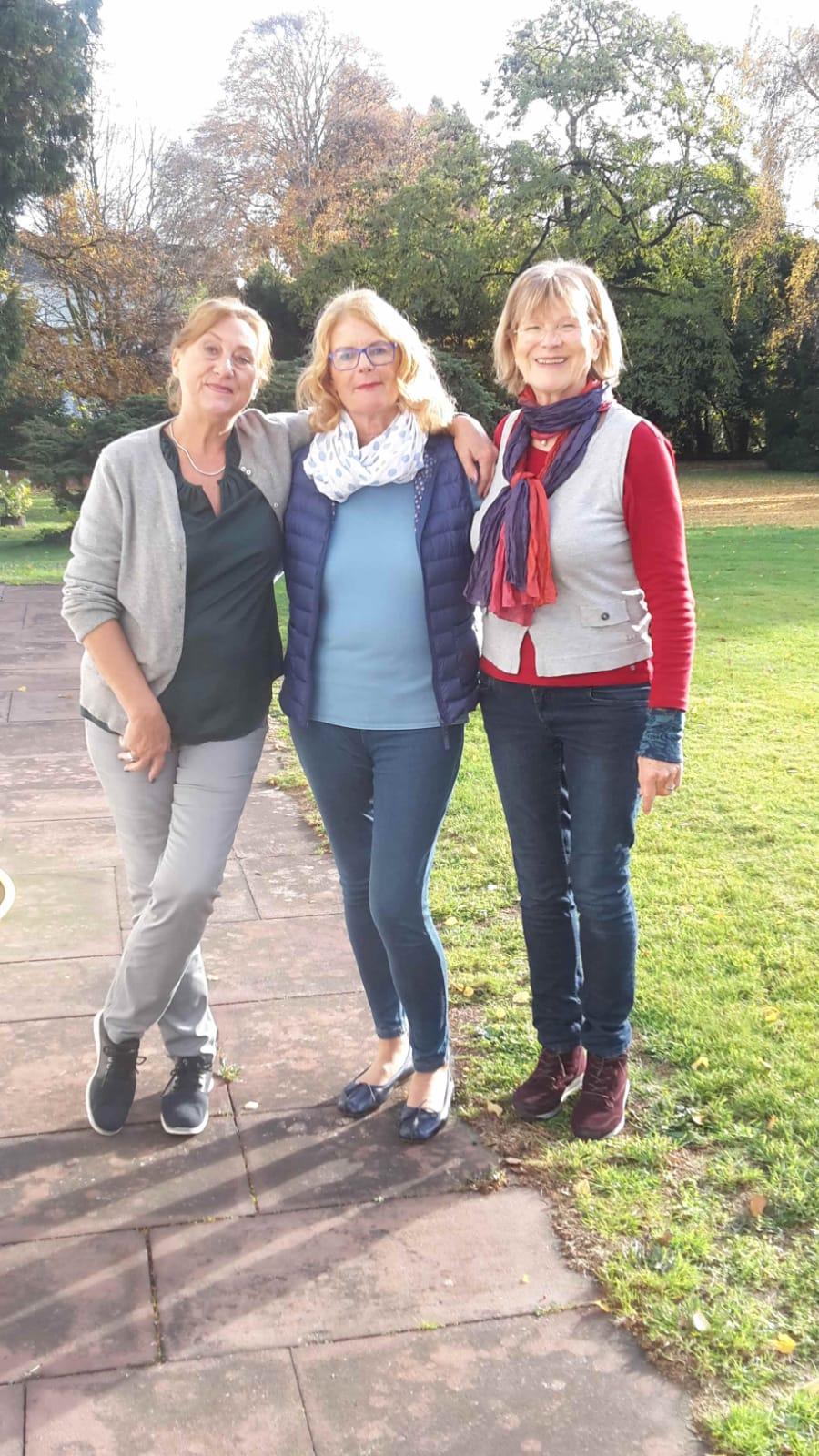 Gabi, Brigitte und Wilma
