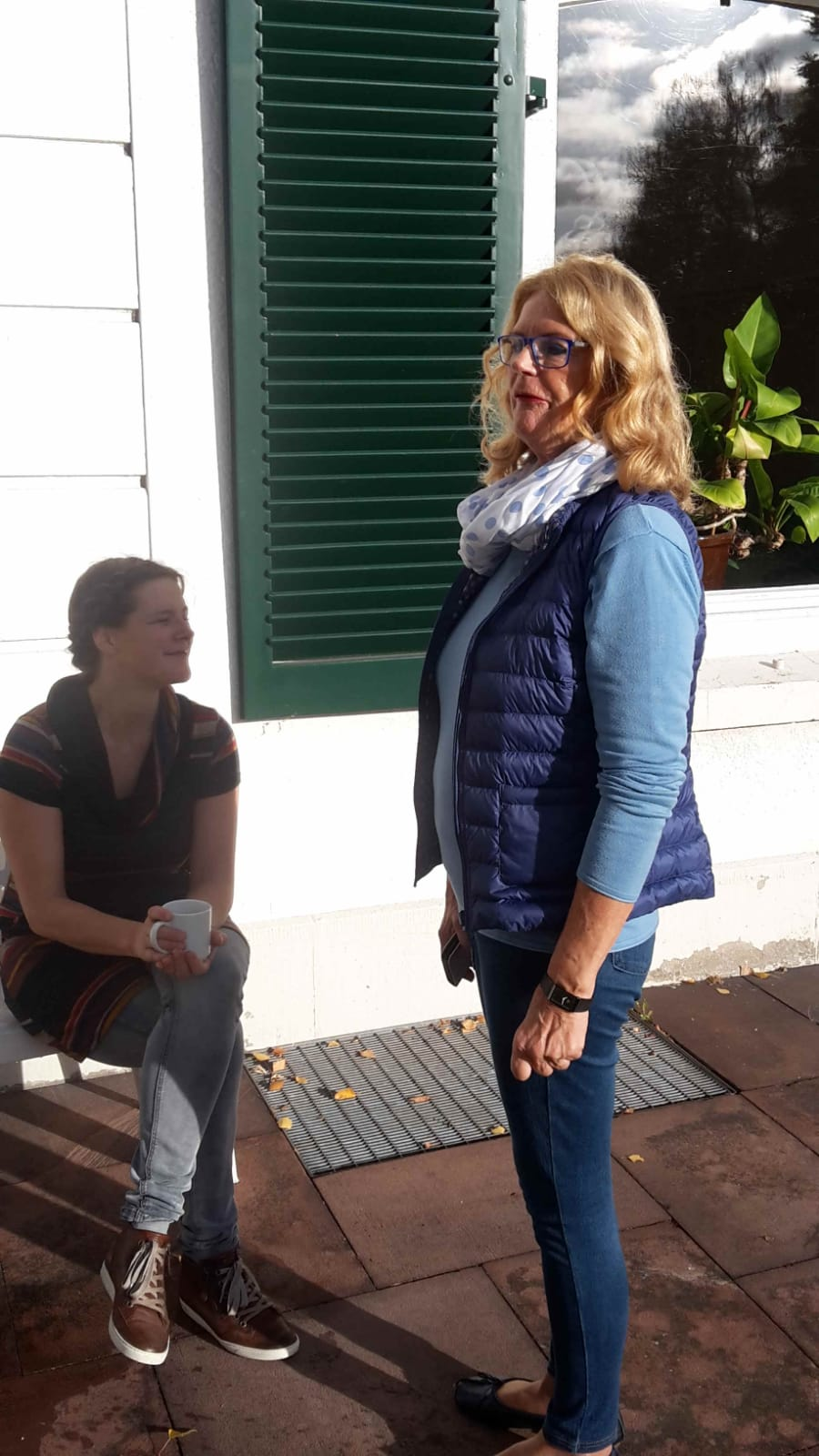 Anke und Brigitte