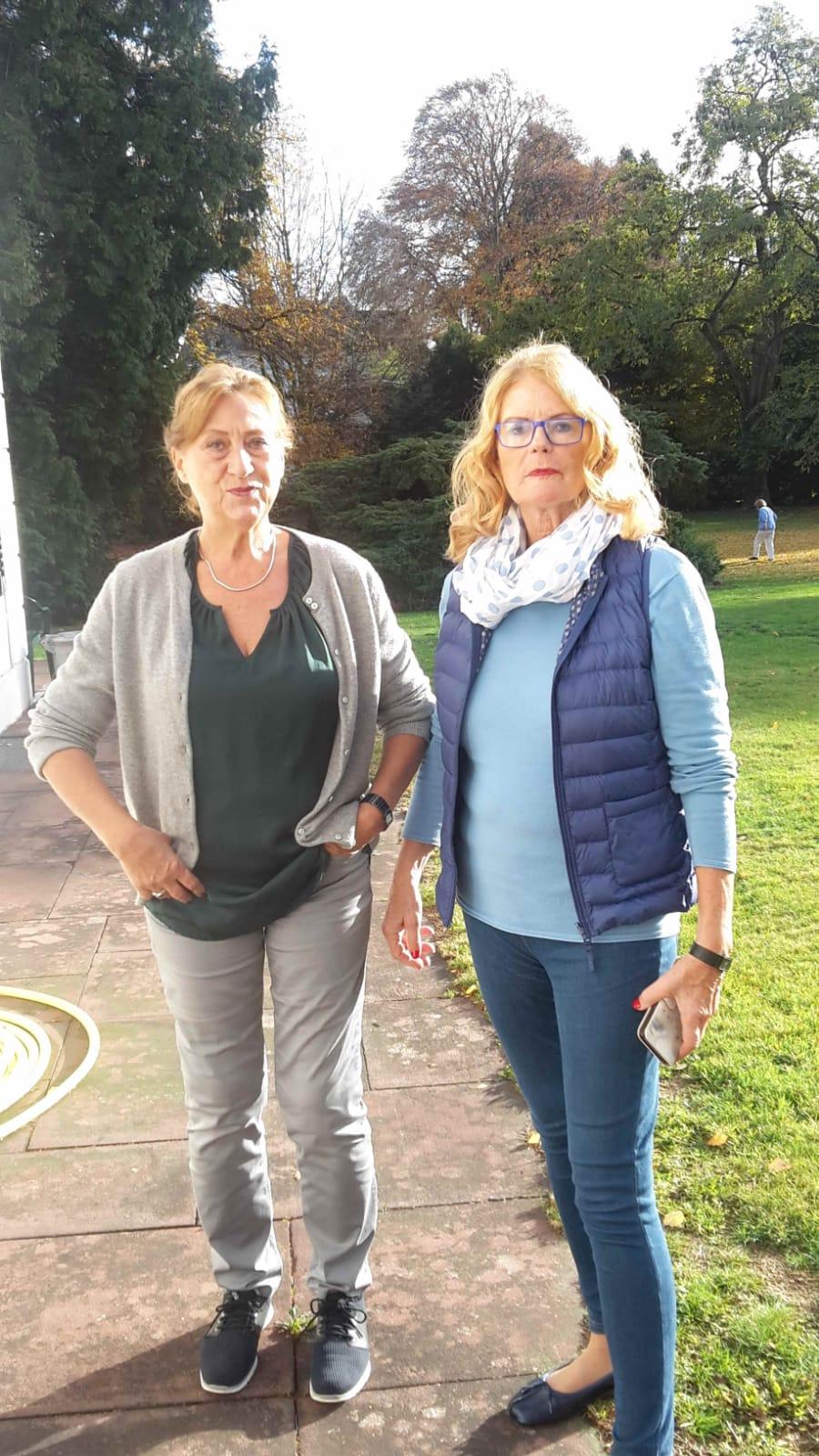 Pause, Gabi und Brigitte