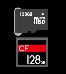 microSDやCFメモリーカードのデータ復旧