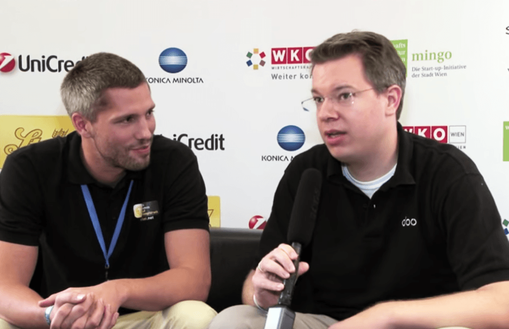 Vienna Startup Week 2011 - Interview Sven Külper and Frank Thelen, myTaxi