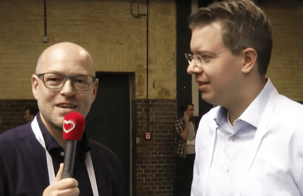 Interview mit Frank Thelen von doo @ TechCrunch Disrupt 2013