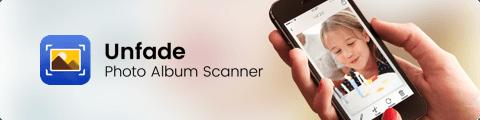 unfade photo album scanner