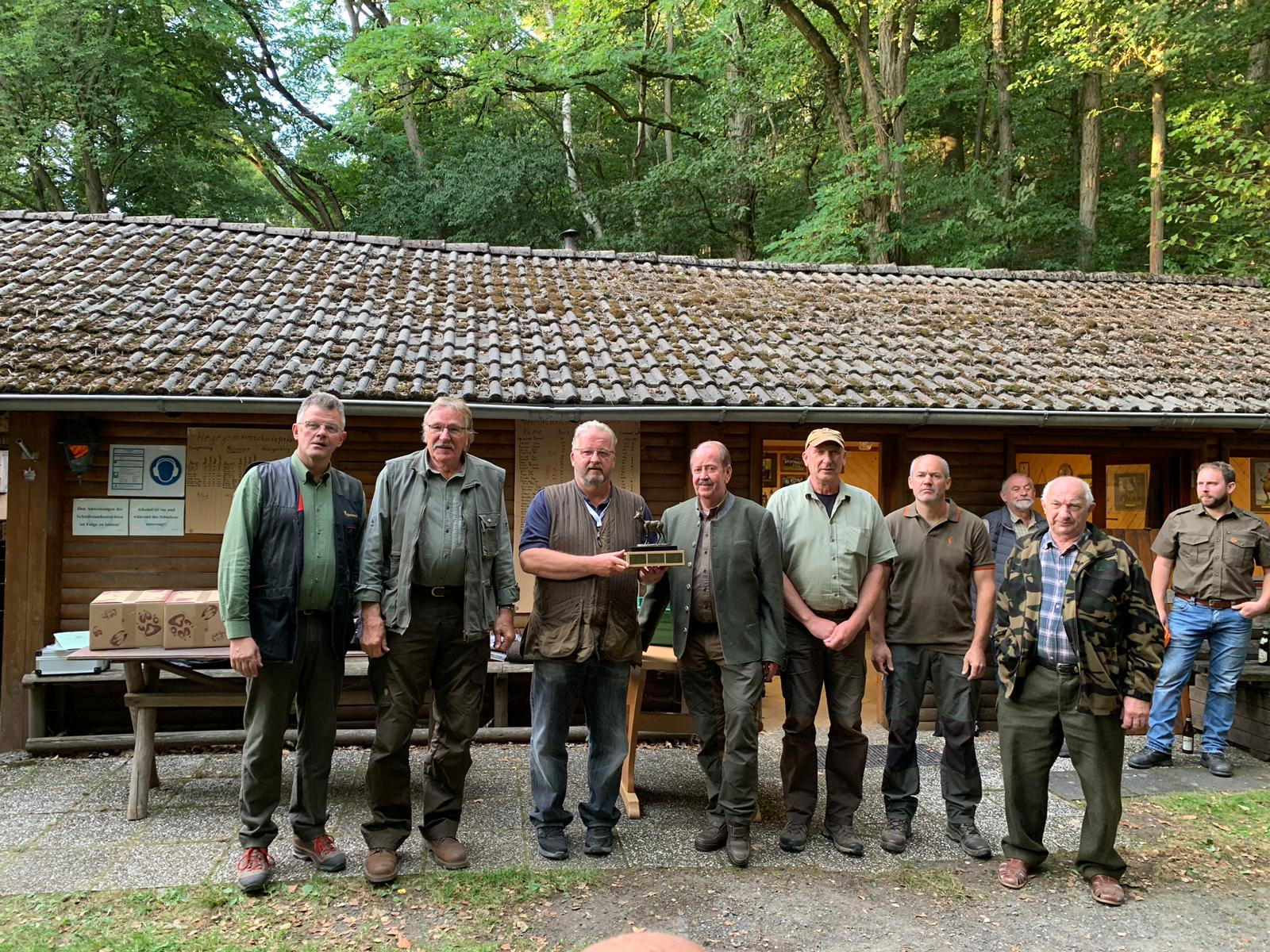 Die Hegegemeinschaft Melsungen/Fuldatal erringt den Hegegemeinschaftspokal