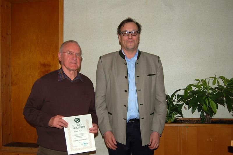 50 Jahre: Robert Paul.