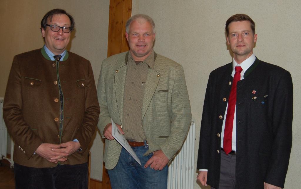 15 Jahre Mitglied im Bläserkorps:  Holger Ackermann